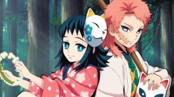 Imagen de Makomo y Sabito serán personajes controlables en Kimetsu no Yaiba - Hinokami Keppuutan