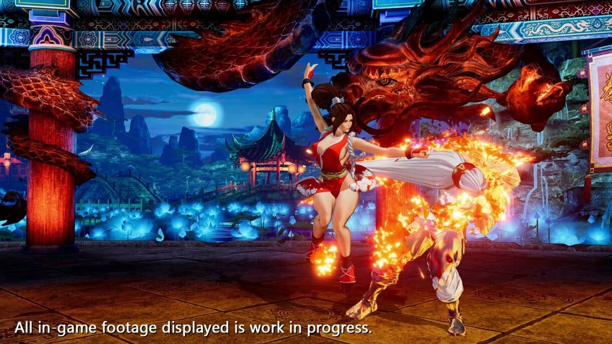 king of fighters xv mai 3