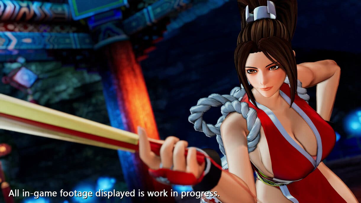 king of fighters xv mai 4