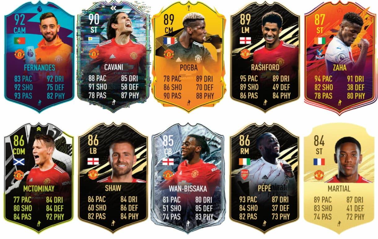 Eric Bailly FUT Birthday. FIFA 21 Ultimate Team links verdes