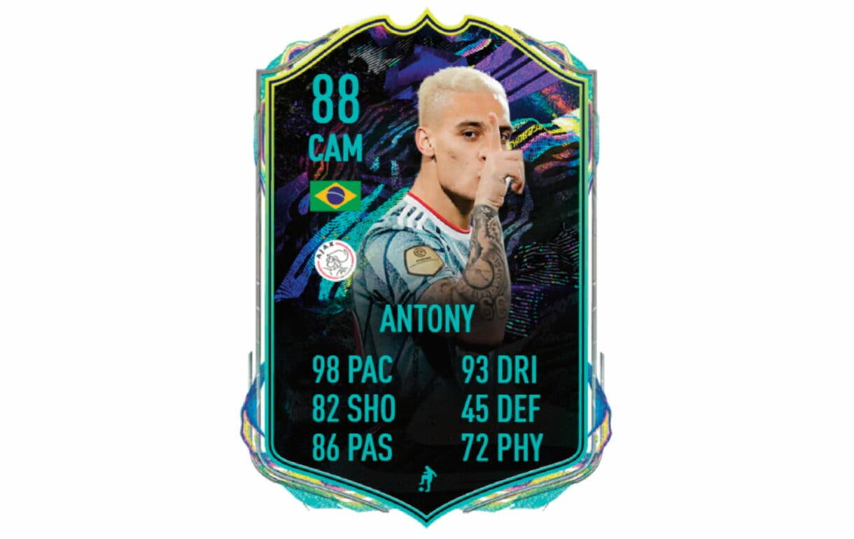 David Neres Showdown. FIFA 21 Ultimate Team link perfecto