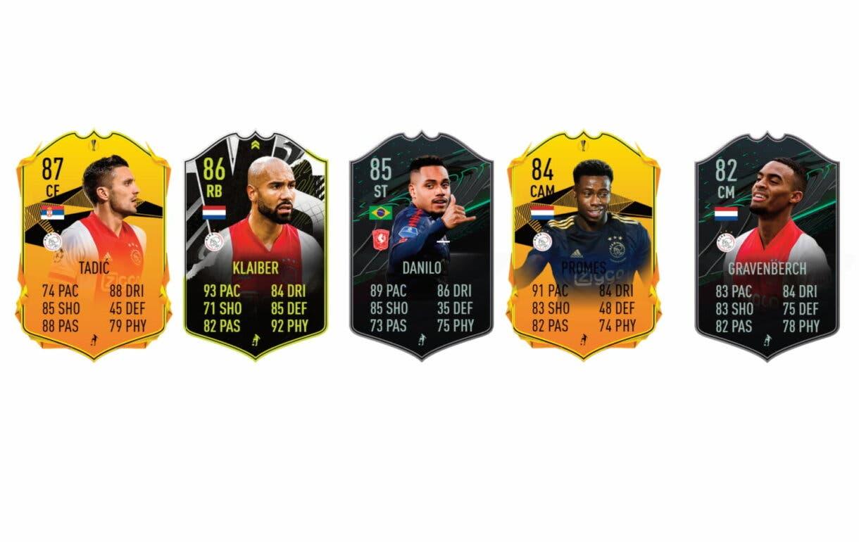 David Neres Showdown. FIFA 21 Ultimate Team links verdes