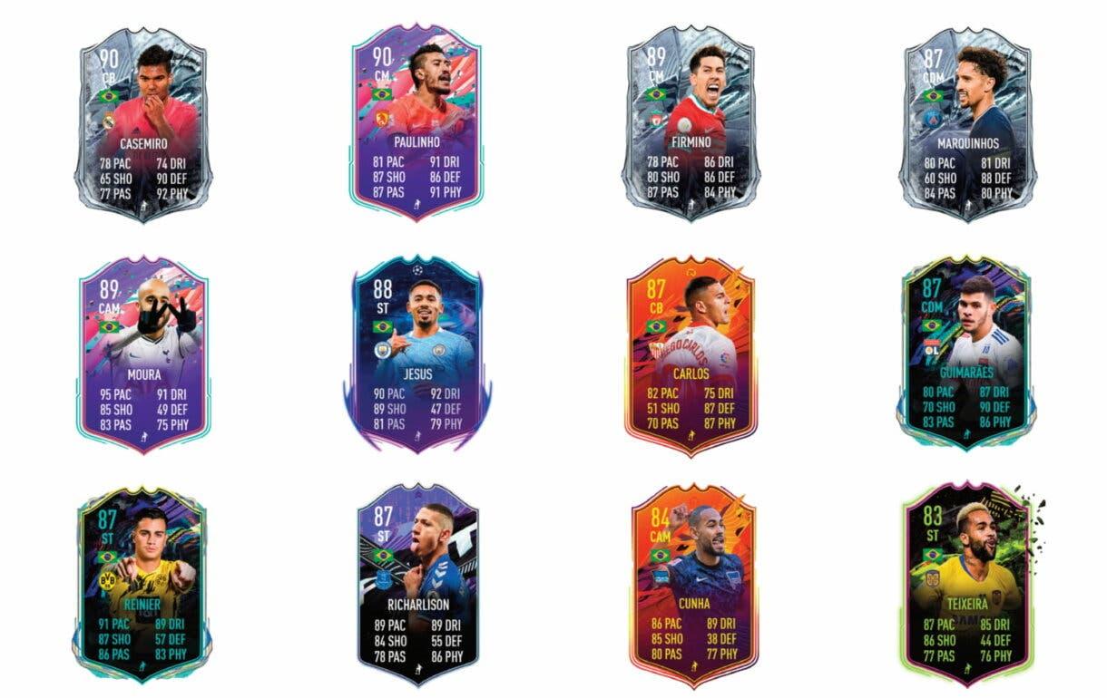 David Neres Showdown. FIFA 21 Ultimate Team links naranjas