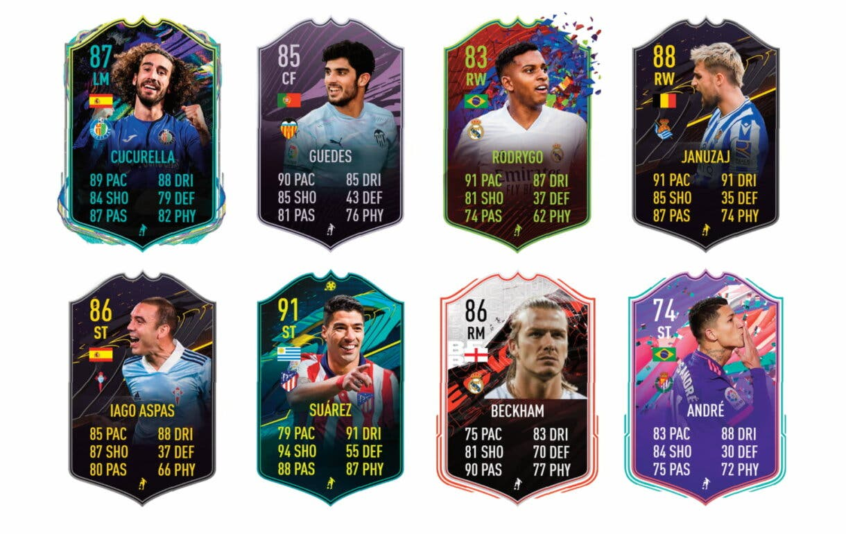 FIFA 21 Ultimate Team tier list mejores free to play para conseguir a Marco Asensio Jugador de Liga Santander atacantes