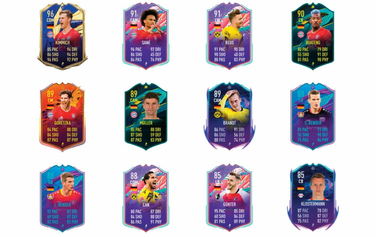 Niederlechner Jugador de Liga. FIFA 21 Ultimate Team links verdes