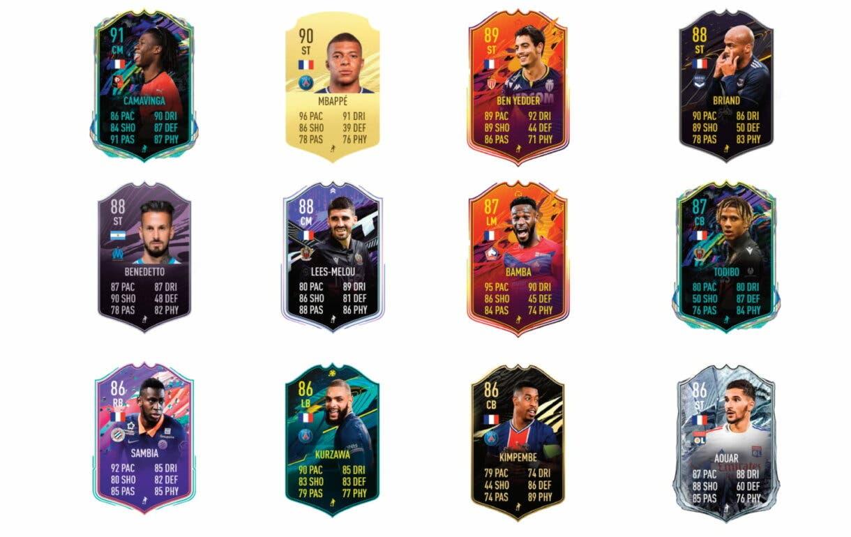 FIFA 21 Ultimate Team Dimitri Payet links verdes