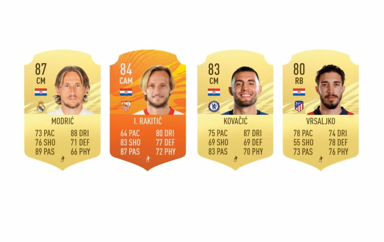 FIFA 21 Ultimate Team Perisic FUT Birthday links naranjas mejor ED de precio razonable