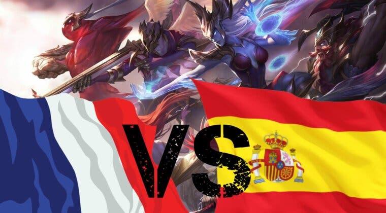 Imagen de España y Francia se verán las caras en un partido único de League of Legends con Ibai como caster