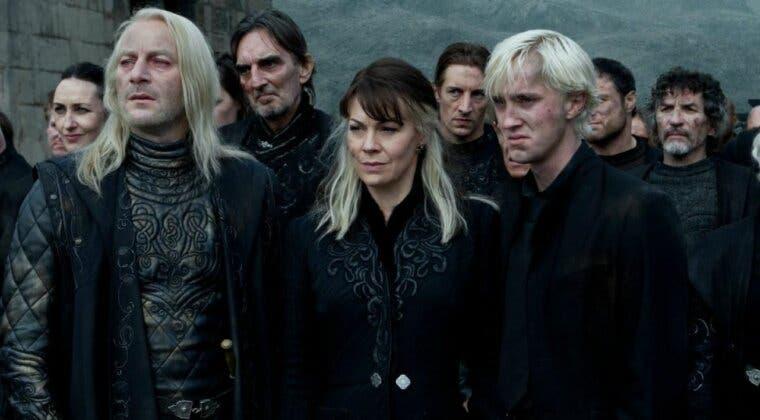 Imagen de La familia Malfoy se despide al completo de Helen McCrory con cariño y emoción