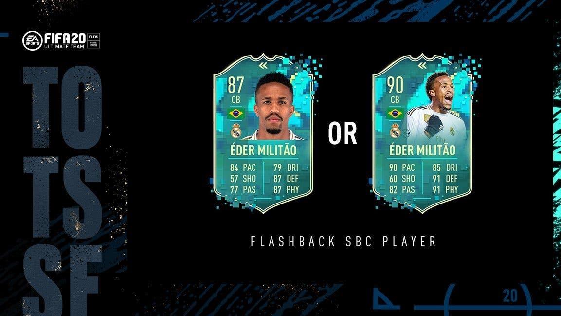 FIFA 21 Ultimate Team TOTS tipos de cartas especiales Flashback