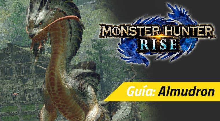 Imagen de Guía Monster Hunter Rise - Cómo cazar al Almudron: debilidades, materiales rango alto y más