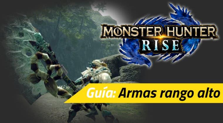 Imagen de Guía Monster Hunter Rise - Cómo desbloquear las armas de rango alto y los adornos