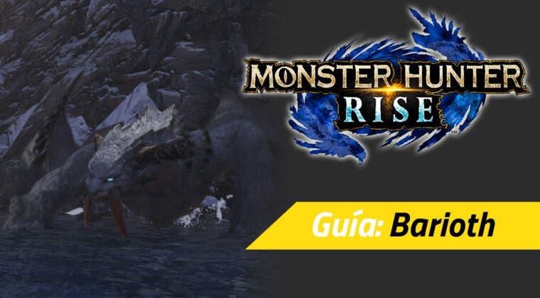 Imagen de Guía Monster Hunter Rise - Cómo cazar al Barioth: debilidades, materiales rango alto y más
