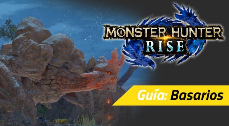 Imagen de Guía Monster Hunter Rise - Cómo cazar al Basarios: debilidades, materiales rango alto y más
