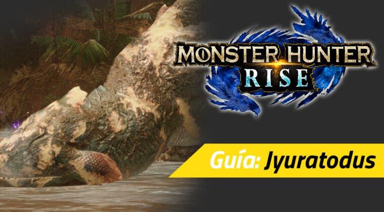 Imagen de Guía Monster Hunter Rise - Cómo cazar al Jyuratodus: debilidades, materiales y más