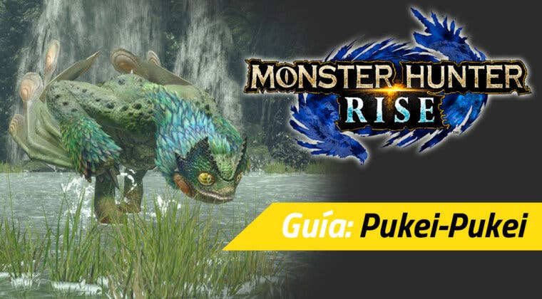 Imagen de Guía Monster Hunter Rise - Cómo cazar al Pukei-Pukei: debilidades, materiales rango alto y más