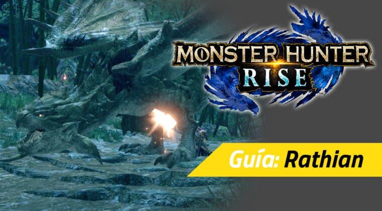 Imagen de Guía Monster Hunter Rise - Cómo cazar a la Rathian: debilidades, materiales rango alto y más