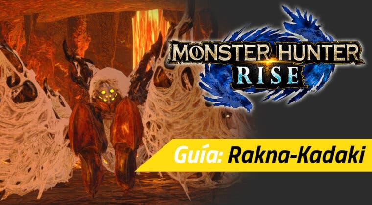Imagen de Guía Monster Hunter Rise - Cómo cazar a la Rakna-Kadaki: debilidades, recompensas y más
