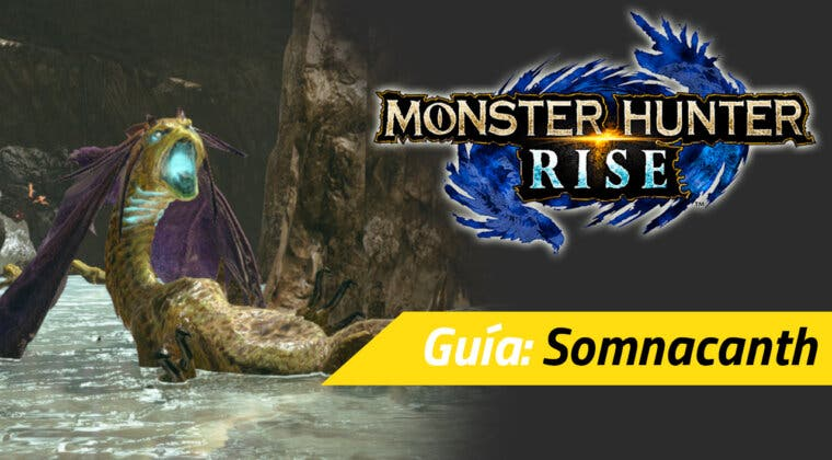 Imagen de Guía Monster Hunter Rise - Cómo cazar al Somnacanth: debilidades, materiales rango alto y más