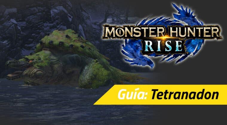 Imagen de Guía Monster Hunter Rise - Cómo cazar al Tetranadon: debilidades, materiales rango alto y más