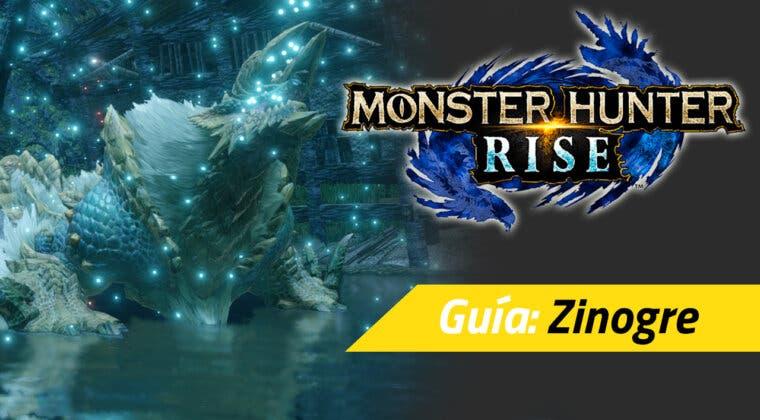 Imagen de Guía Monster Hunter Rise - Cómo cazar al Zinogre: debilidades, materiales rango alto y más
