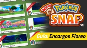 Imagen de Guía New Pokémon Snap - Todos los encargos de Floreo y cómo completarlos