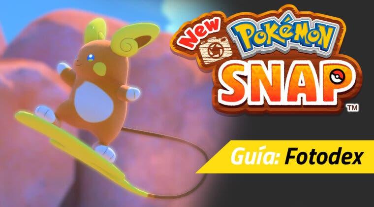 Imagen de Guía New Pokémon Snap - Lista completa de todos los Pokémon de la Fotodex