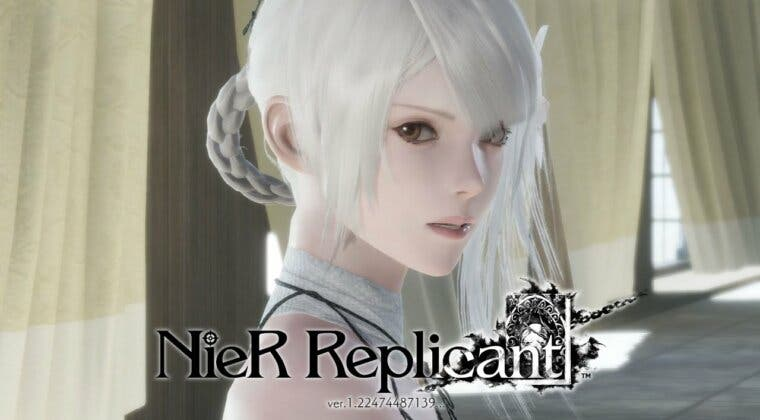 Imagen de NieR: Replicant ver.1.22474487139… se muestra en un extenso y espectacular gameplay