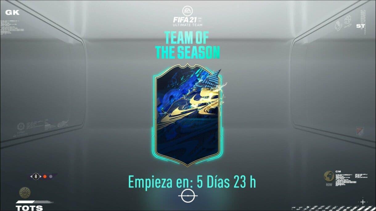 FIFA 21 Ultimate Team TOTS logos equipos y ligas confirmados