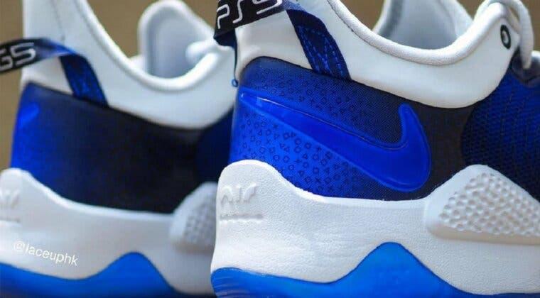 Imagen de Así son las PG 5 PlayStation 5, unas zapatillas de Nike inspiradas en la consola de Sony