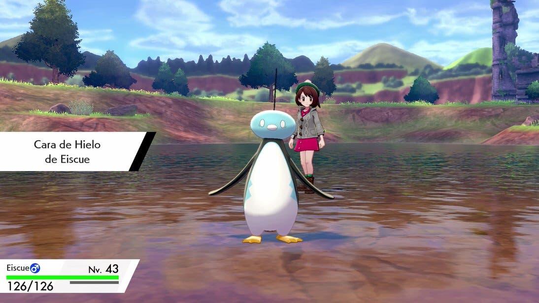 Pokemon Espada y Escudo Eiscue Cara de Hielo 2