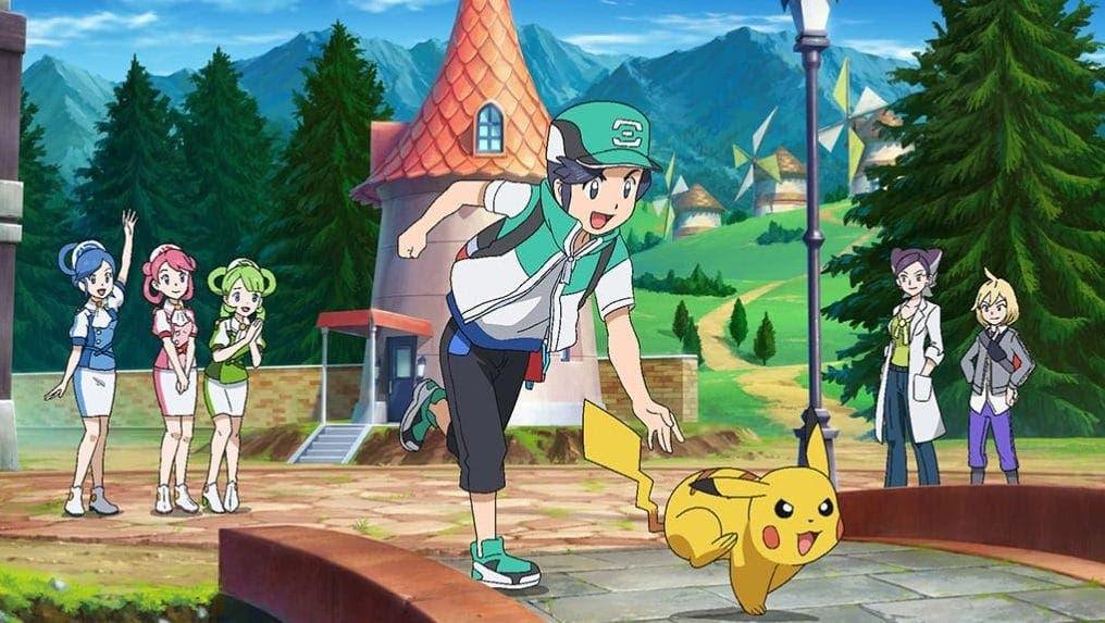 Pokemon Masters EX avatar y Pikachu