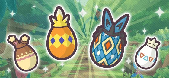 Pokémon Masters EX Huevos decorados pascua