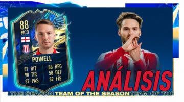 Imagen de FIFA 21: análisis de Powell TOTS gratuito. ¿Un mediapunta de primer nivel?