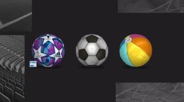 Imagen de FIFA 21: balones curiosos para usar en Ultimate Team