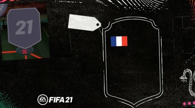 Imagen de FIFA 21: el mejor DC francés barato de Ultimate Team