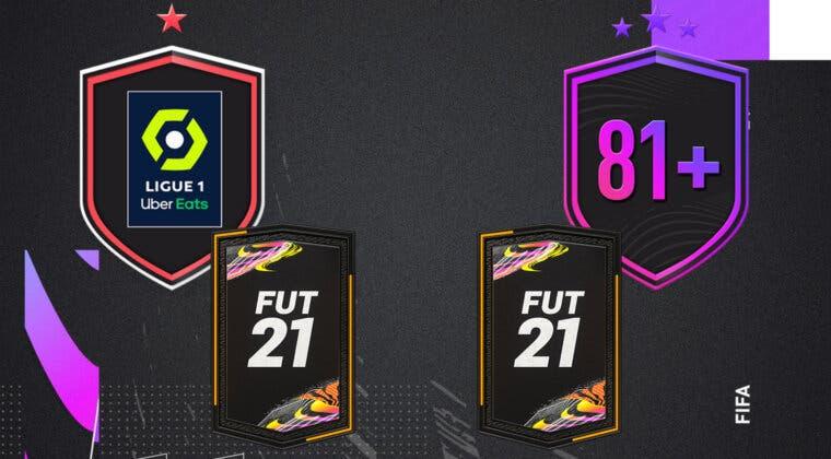 """Imagen de FIFA 21: ¿Merecen la pena los SBC's """"Desafío de la Ligue 1"""" y """"Doble mejora 81+""""?"""