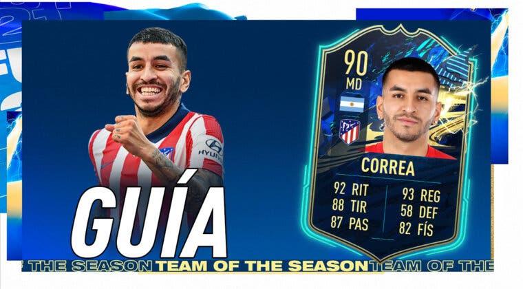 Imagen de FIFA 21: guía para conseguir a Ángel Correa TOTS