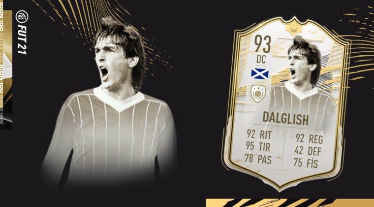 Imagen de FIFA 21: ¿Merece la pena Dalglish Moments SBC? Review de Icono