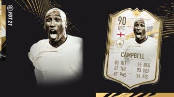 Imagen de FIFA 21: ¿Merece la pena Sol Campbell Moments SBC? Review de Icono