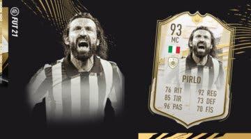 Imagen de FIFA 21: ¿Merece la pena Andrea Pirlo Moments SBC? Review de Icono
