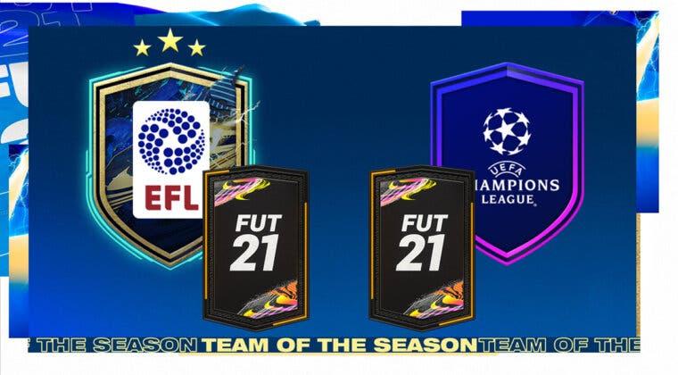 """Imagen de FIFA 21: ¿Merecen la pena los SBC's """"TOTS EFL garantizado"""" y """"Sarribola""""?"""