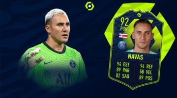 Imagen de FIFA 21: solución al SBC de Keylor Navas POTM de la Ligue 1