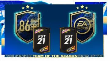 """Imagen de FIFA 21: ¿Merecen la pena los SBC's """"Doble mejora 86+"""" y """"Desafío del TOTS de la comunidad""""? 26-04-2021"""