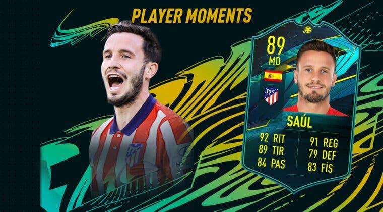 Imagen de FIFA 21: ¿Merece la pena Saúl Ñíguez Moments? + Solución del SBC