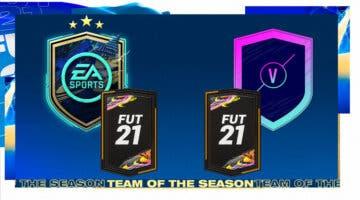 """Imagen de FIFA 21: ¿Merecen la pena los SBC's """"Desafío del TOTS de la Comunidad"""" y """"Partidos Clave de la UEFA""""?"""