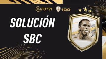 Imagen de FIFA 21: solución al SBC de Didier Drogba Icono Moments