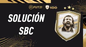 Imagen de FIFA 21: solución al SBC de Andrea Pirlo Icono Moments