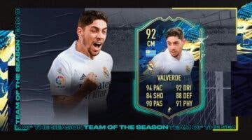Imagen de FIFA 21: review de Valverde TOTS. ¿Fichaje a buen precio?