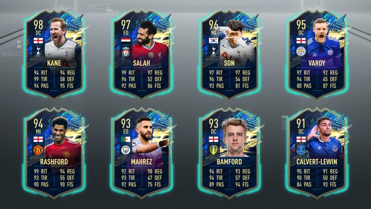 FIFA 21 Ultimate Team Predicción TOTS Premier League